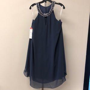 NWT JJs House Blue Studded Dress